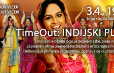 INDIJSKI PLES, delavnica, 3.4.,19h
