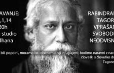 30.1.,20h RABINDRANATH TAGORE: VPRAŠANJE SVOBODE IN NEODVISNOSTI