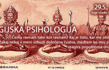 JOGIJSKA PSIHOLOGIJA, PREDAVANJE 29.5., 20h