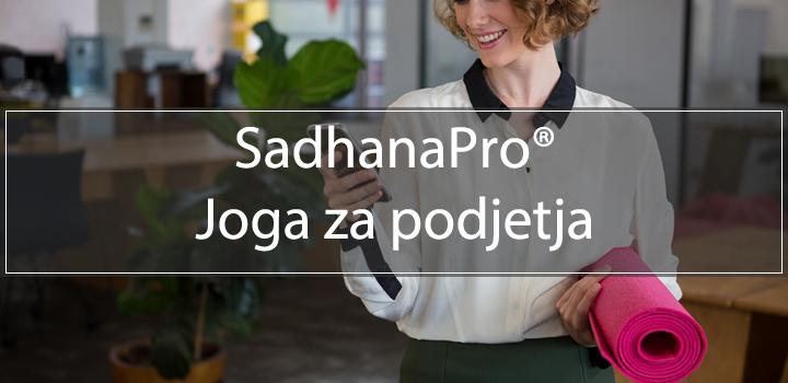 SadhanaPro - Joga za podjetja
