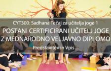 CYT300: Sadhana Tečaj za Učitelja Joge 1