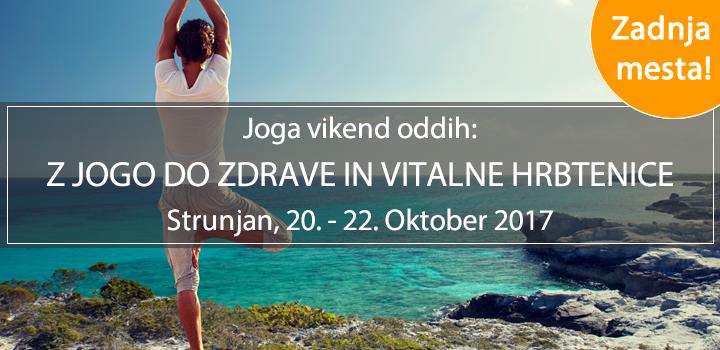 JOGA VIKEND ODDIH, Strunjan 20. – 22.10.