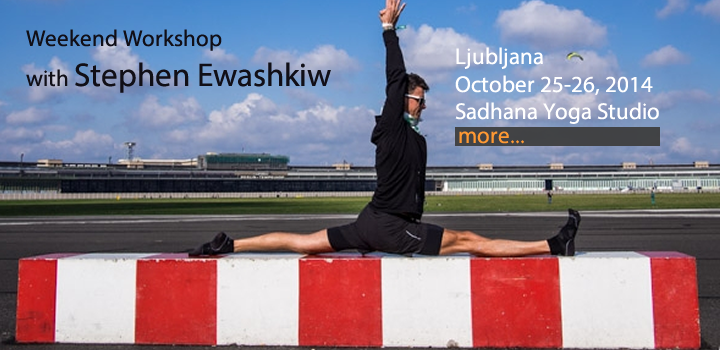 YOGA WORKSHOP WITH STEPHEN EWASHKIW