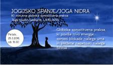JOGA NIDRA – jogijsko spanje