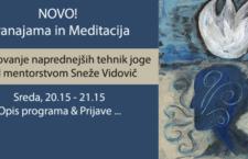 NOVO: PRANAJAMA IN MEDITACIJA