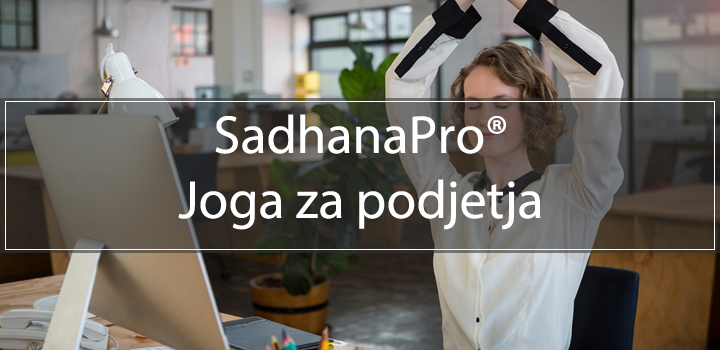 SadhanaPro®Joga programi za podjetja