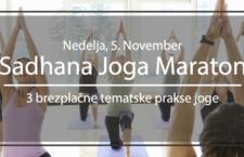 Sadhana Joga Maraton (3 brezplačne prakse joge)