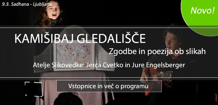 9.3., Ljubljana: KAMIŠIBAJ GLEDALIŠČE – Zgodbe in poezija ob slikah