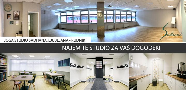 Najem dvorane Ljubljana – Rudnik