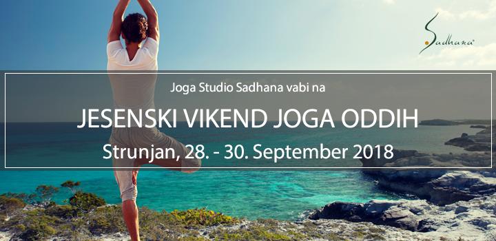 JESENSKI VIKEND JOGA ODDIH, Strunjan, 28-30.9.