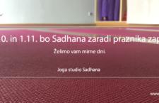 31.10. in 1.11.2018 – ZARADI PRAZNIKA ZAPRTO