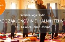 JOGA ODDIH: MOČ ZAKLONOV IN DIHALNIH TEHNIK, 12. – 14. APRIL