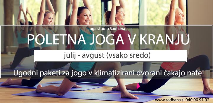 Poletna joga v Kranju