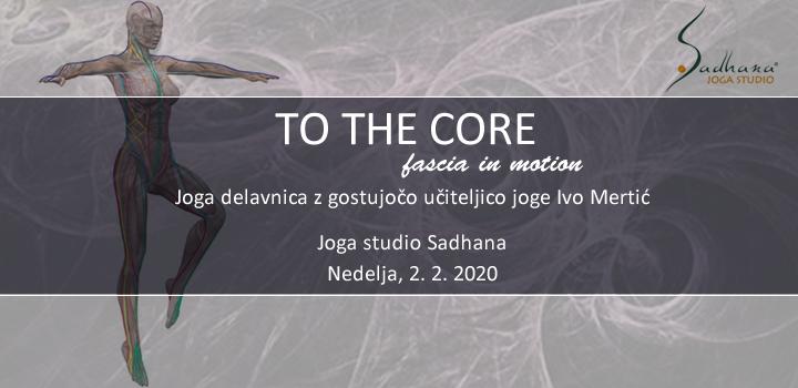 2.2. K JEDRU – TO THE CORE, joga delavnica