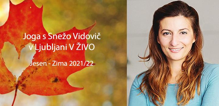 Joga v Ljubljani: Jesen – Zima 2021/22