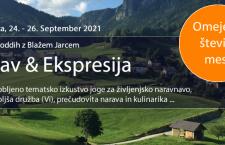 Jesenski joga oddih: Stav & Ekspresija (dogodek je odpovedan)